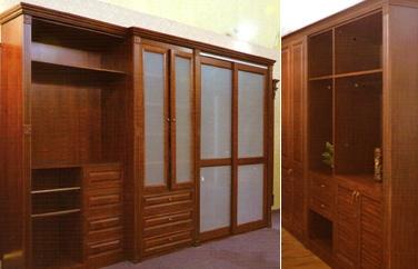 威海全屋定制 木式衣柜
