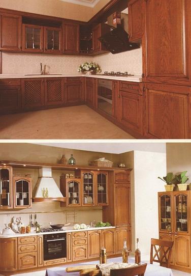威海全屋整木定制厨房展柜